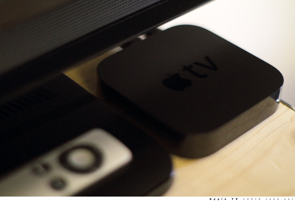 Rumor: Apple TV Will be Updated in the Summer
