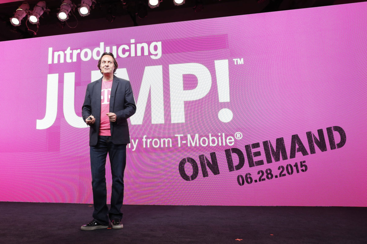 T-Mobile Introduces Smartphone Leases with JUMP! On Demand