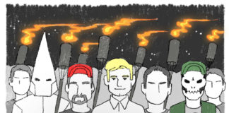 From 'Know Your Hate Groups' by JBCharis for The Nib.